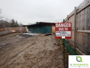 RRR - Asbestos Removal at Washroom